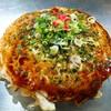 広島流お好み焼き 秀 - 料理写真:肉玉のそば