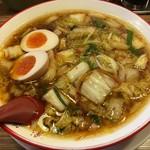 彩華ラーメン - サイカラーメン半熟煮玉子入り