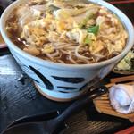 そば処 緑寿庵 - 料理写真:親子そば