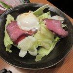湘南茅ヶ崎 道 - ローストビーフのサラダ 2016.12.13