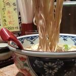 つけそば 黒門 - スーラータンメン500円麺アップ