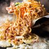道とん堀 - 料理写真:チーズたっぷりカルボナーラ焼きそば