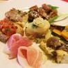 トラットリアアルラグー - 料理写真:前菜盛り合わせ6種