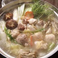 極上の比内地鶏水炊き鍋(お一人様)