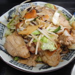 勢林 - 料理写真:肉野菜炒め