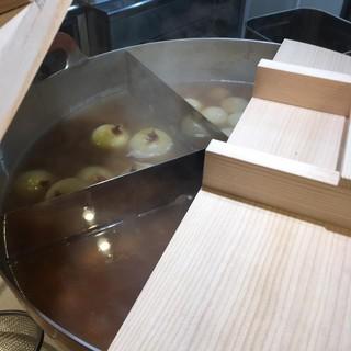 和風鶏だしで炊き出したおでん