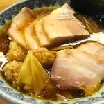 一番いちばん - チャーシューワンタン麺