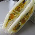 サンドイッチハウス メルヘン - かぼちゃサラダ 324円