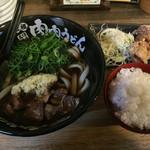 元祖肉肉うどん - 料理写真:元祖唐揚定食=780円