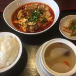 四川料理 蜀彩 - 麻婆豆腐 (四川風麻婆豆腐)