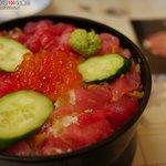 食事処 伸光 - 料理写真:なかおち丼