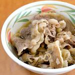 香川屋 - 肉皿(肉うどん用)