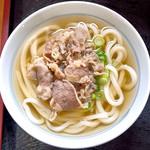香川屋 - 肉うどん