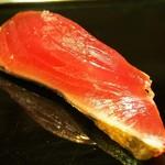 金寿司 - 料理写真:鰹の薫製