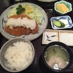 とんかつ太郎 - おろしロースかつ定食