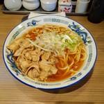 肉盛麺工房 ニク助 - 肉盛麺(130g)