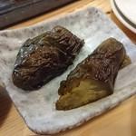 すっぴん - 〇なすのおふくろ煮 200円