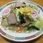 喜鶴 - 料理写真:五目焼きそば(塩) 750円