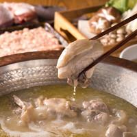 拘り抜いた濃厚スープで食す!久留米さざなみどりの小倉水炊き