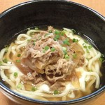 うどん屋 武 - 料理写真:麦とろ牛うどん