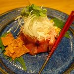 老虎菜 - 本日のお刺身サラダ