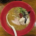 博多 一風堂 - 味噌赤丸 860円