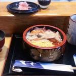 吉江寿司 - ランチ生チラシは800円です♬(ガリもいっぱいね)