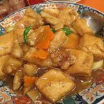 中華料理 龍鳳酒家 - 魚の豆腐煮_2016/12