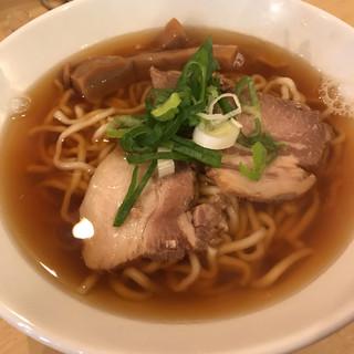 麺商人 - 料理写真:煮干し中華そば
