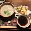 蕎舎 - 料理写真:天ぷら付 釜あげ風そば(1850円)