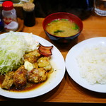 キッチン たか - カキのバターソテー¥1300