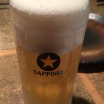 もんじろう - 生ビール