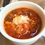 60160247 - 本日のスープのチリビーンズ