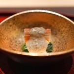 山田屋 - 蟹と小松菜の胡麻和え