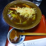 弘昇庵 - カレー南蛮蕎麦ぷらす海老天