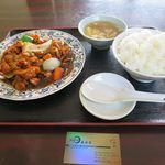 中国料理 金春新館 - 黒酢鶏肉_2016/12