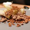 Crony - 料理写真:洋ナシとチョコレート
