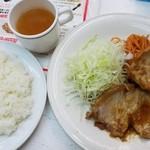 60166668 - 生姜焼き定食(790円)