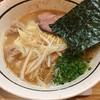 麺屋 万年青 - 料理写真:塩とんこつらーめん+ワンタン