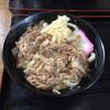 うどんの田 - 料理写真:肉うどん