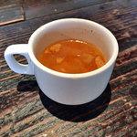 ガーブ ドレッシング - ランチのスープ