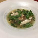 五十嵐 - 山椒まつたけすっぽんスープ