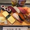 若駒 - 料理写真:松にぎり2,100円+中瓶ビール600円(共に税込)