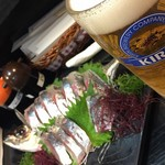 海鮮いづつ - 関アジ&ビール
