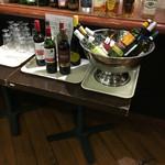 Y'sバイキングレストラン - ワイン 焼酎コーナー