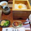喜楽庵 - 料理写真:釜玉うどん