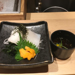 おたる政寿司 - イカソーメン