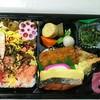 日信 - 料理写真:らしいお弁当です