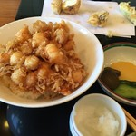 天ぷら 佐久間 - かきあげ丼