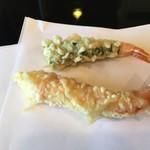 天ぷら 佐久間 - えび・2種類